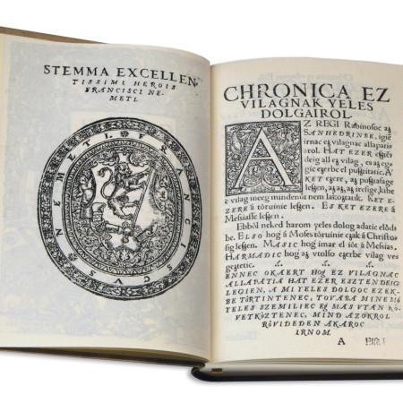Székely István: Chronica